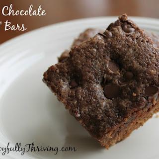 "Simple Chocolate ""Dump"" Bars"