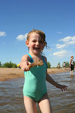 Photo: Addi hanging out at a reservoir near Denver