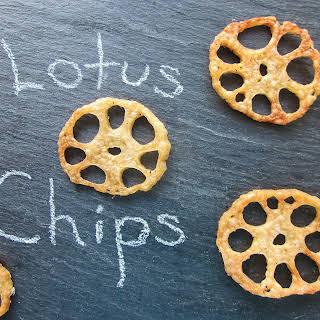 Lotus Root Chips.
