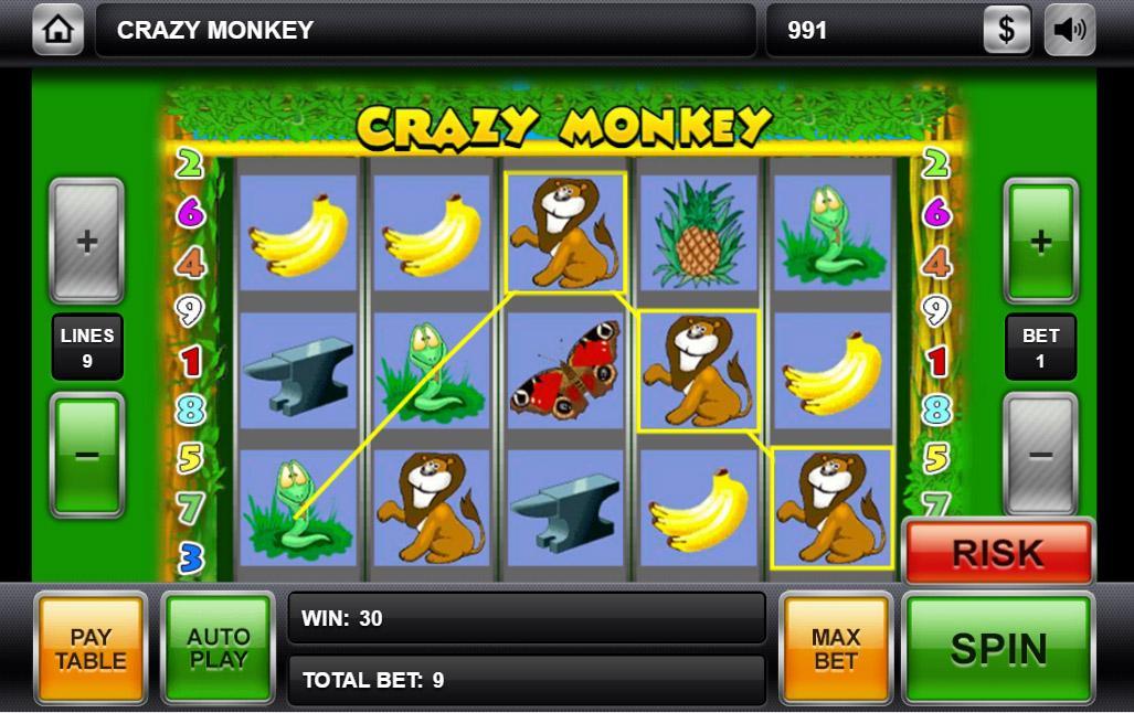 Скачать Игровые Автоматы Crazy Monkey