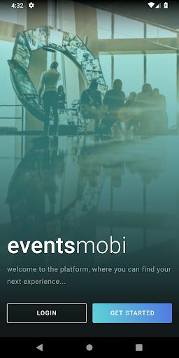 events mobi screenshot 1