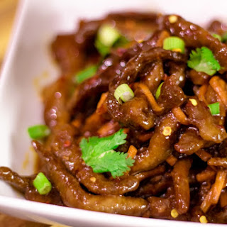 Spicy Soy Ginger Beef.