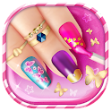 Cute Nail Salon Game For Girls icon
