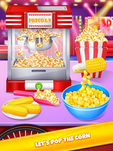 Crazy Movie Night Food Party - Make Popcorn & Soda 1.0 screenshots 1