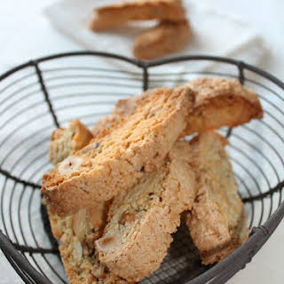 Almond and Hazelnut Catalan Biscotti.