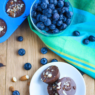 Chocolate Almond Blueberry Bites.