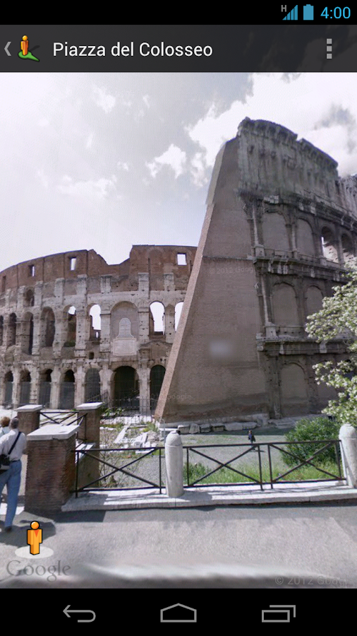 Street View on Google Maps- screenshot