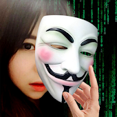 Anonymous Mask Hacker Camera