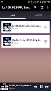 La 100, 99.9 FM, Buenos Aires, Argentina Free - náhled