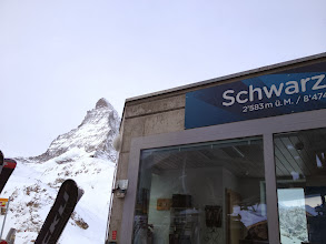 Photo: Scharzsee and Matterhorn