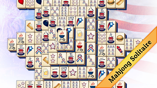 4th of July Mahjong - náhled