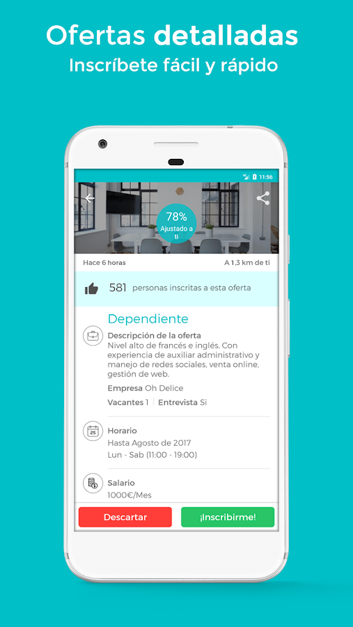 Worktoday - Empleo Trabajo- screenshot