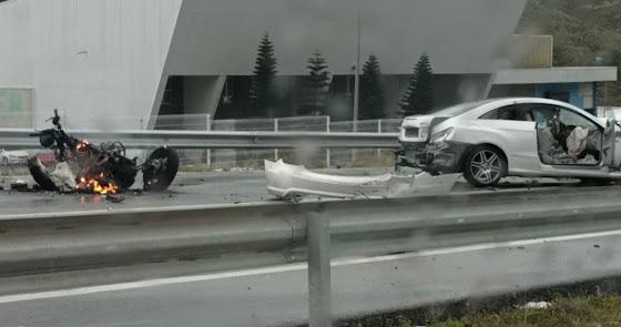 Muere un motorista en un accidente de tráfico en Berja