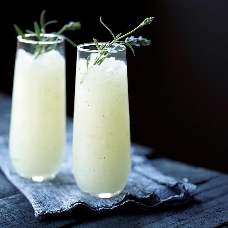 Ginger Lavender Infused Vodka Slush