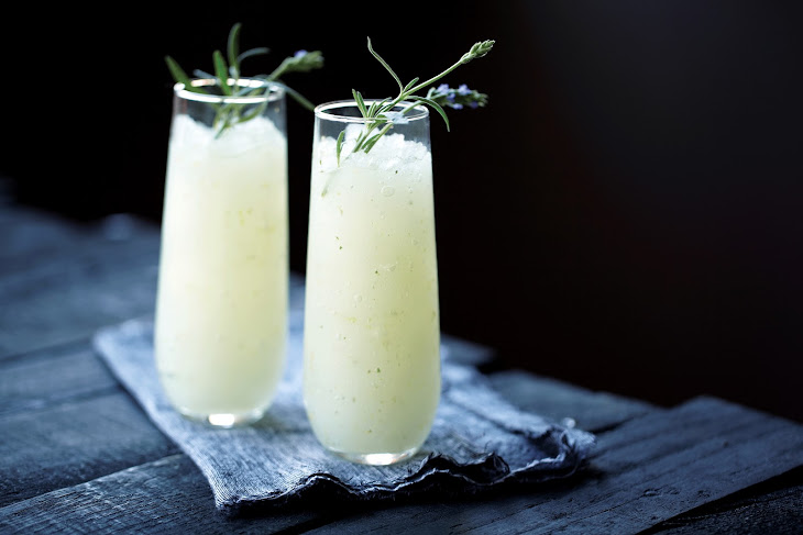 Ginger Lavender Infused Vodka Slush Recipe