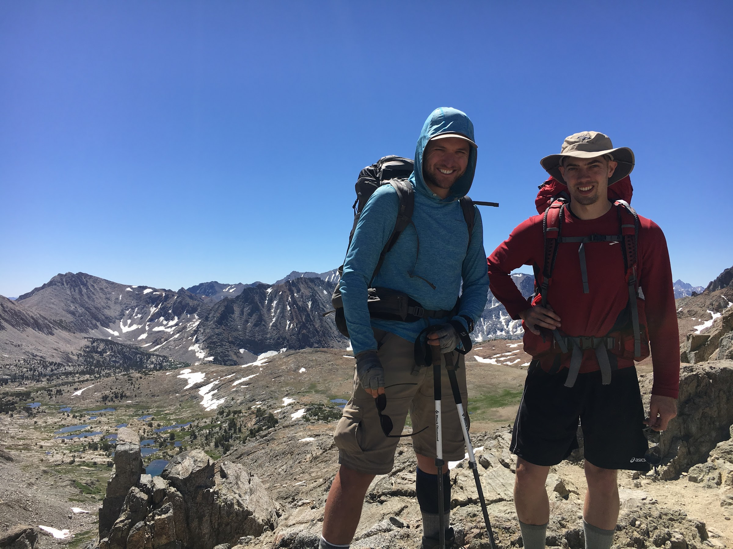 Ethan and Matt at Pinchot Pass