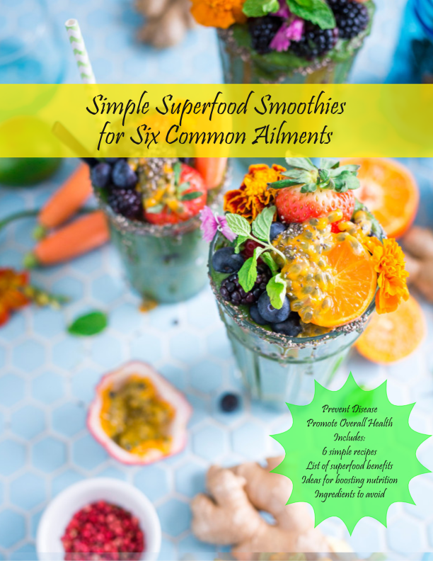 Free recipes for superfood smoothies