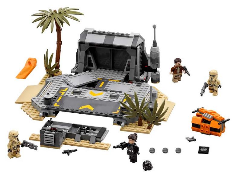 Contenido de Lego® 75171 Batalla en Scarif