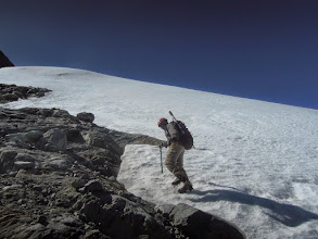 Photo: Mapping the Humboldt Glacier