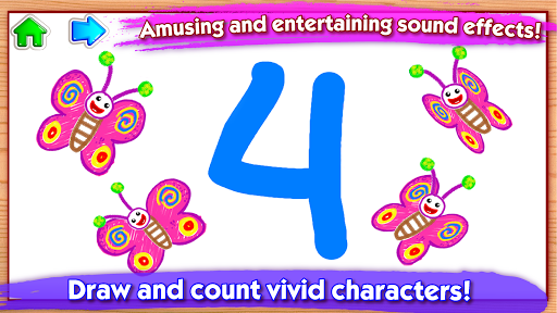 123 Drawud83cudfa8 Toddler counting for kids Drawing games 1.0.2.5 screenshots 5