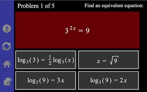 Logarithm/Exponential Tutor screenshot 3