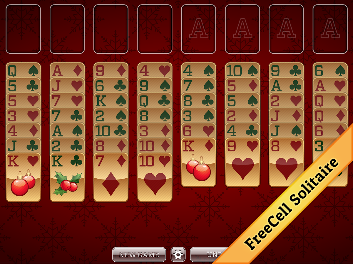 Christmas Solitaire FREE- screenshot