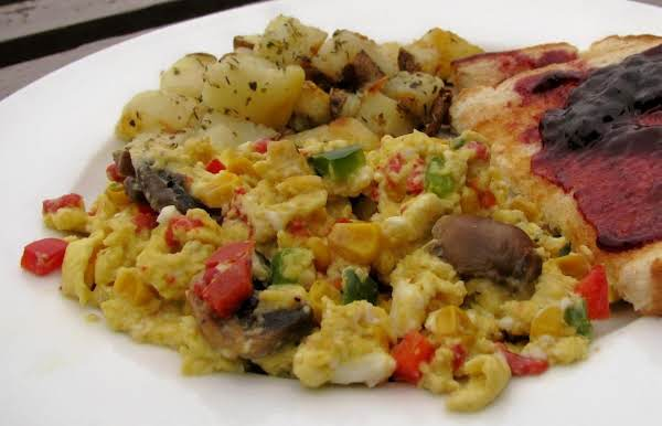 Festive Egg Scramble Recipe