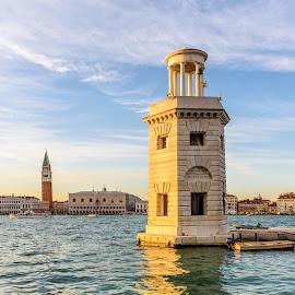 Venice by Antonio J. Gano - City,  Street & Park  Vistas