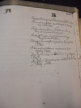 Photo: R Rienck Michels van Beetsterswaag den 13 July 1681 Reijnu Reijnders van Collum den 1 May 1686