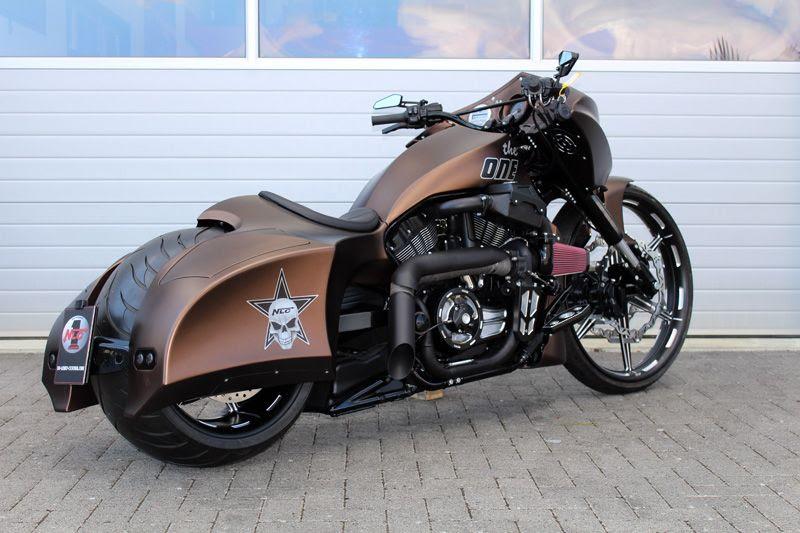 """Harley Davidson V Rod """"The One"""" by No Limit Custom"""