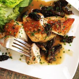Easy Pan-Roasted Chicken Breasts With Morel Mushroom Pan Sauce