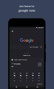 A Swift Dark Substratum Theme Screenshot