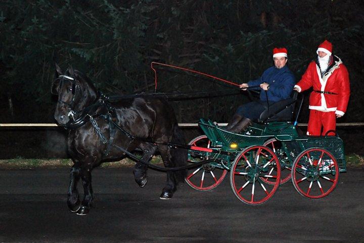 Babbo Natale in calesse di aesborg