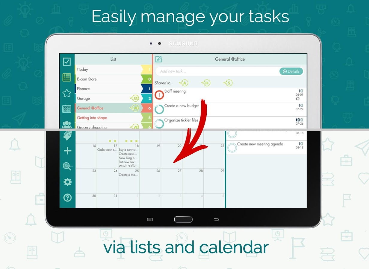 Task Manager & To-Do List App- screenshot