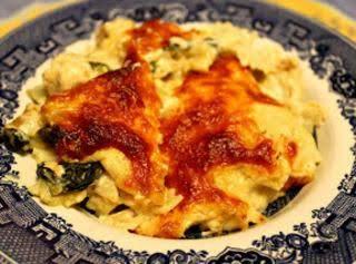 Spinach And Artichoke Chicken Alfredo Recipe