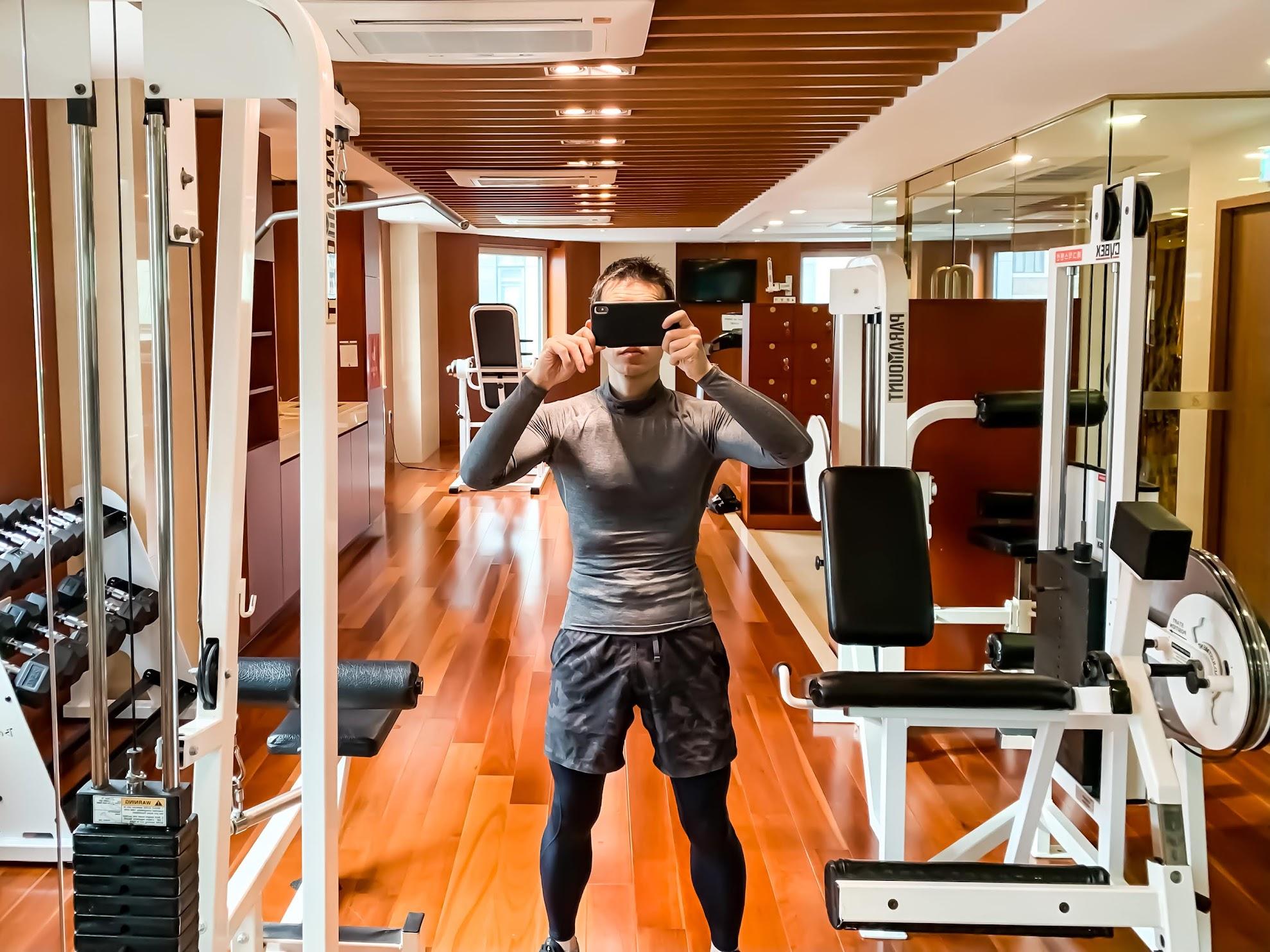 Sejong Hotel gym