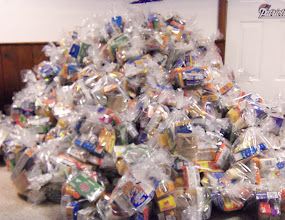 Photo: 350 kare kits ready to be delivered!!  Packed on March 29, 2013 during filming for Channel 4 with Ken Tucci.
