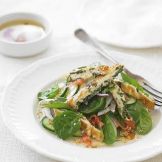 Japanese Spinach Salad