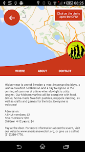 Nordic in America: Events- screenshot thumbnail