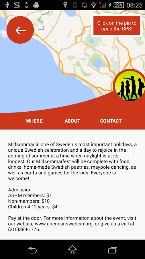 Nordic in America: Events- screenshot