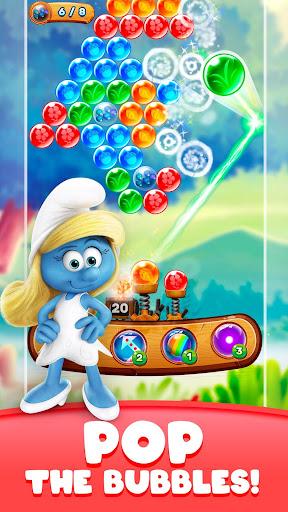 Smurfs Bubble Shooter Story 2.08.17838 screenshots 2