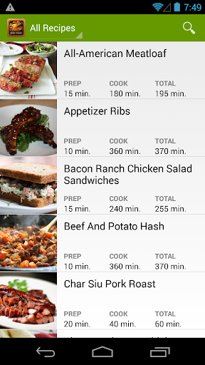 Slow Cooker Main Recipes