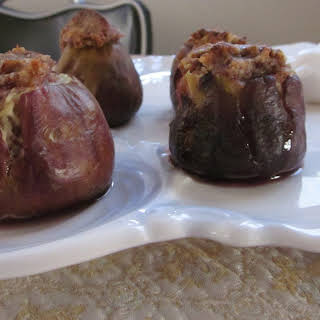 Stuffed Baked Figs.