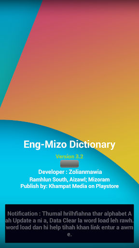 Download English - Mizo Dictionary Google Play softwares