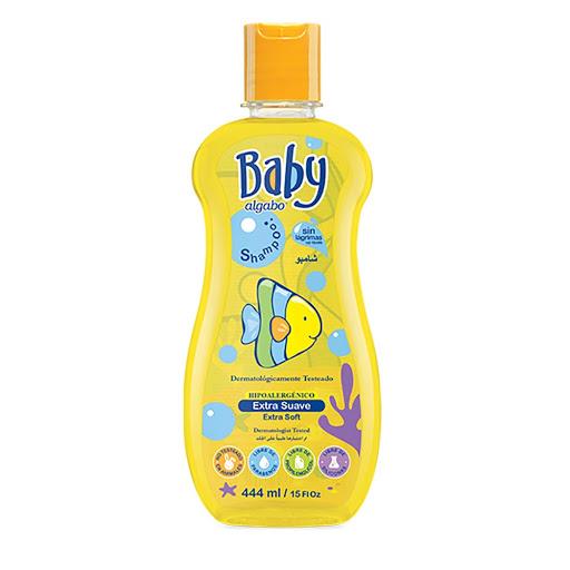 champu algabo baby bebes extra suave 444ml
