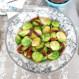 Sauteed Brussels Sprout.