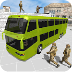 Army Bus Game US Soldier Duty Icon