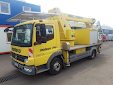 Thumbnail picture of a PALFINGER WT 170 / DAIMLER ATEGO 816