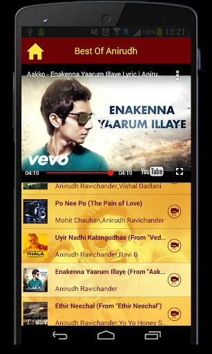 Best Of Anirudh Songs  screenshots 5