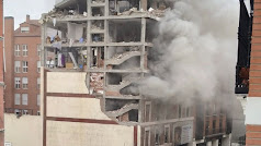 Se produce una explosión en la calle Toledo de Madrid.